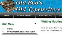 Old Bobs Old Typewriters