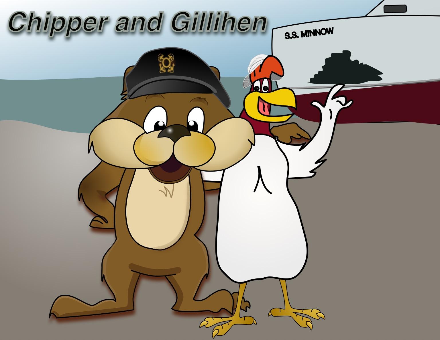 Chipper and Gillihen Cartoon Series