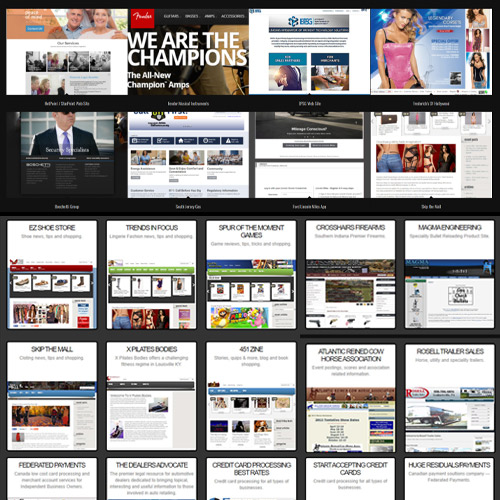 Web Sites Portfolio