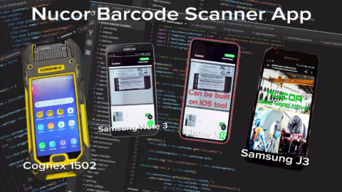 Nucor Steel Barcode App Installation